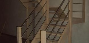 DB-Interieur  - MEER  - HOUTEN TRAPPEN